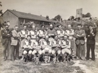East Budleigh Cup Winners 1954